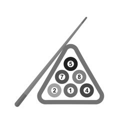 Billiard Snooker vector