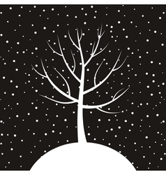Christmas tree3 vector image vector image