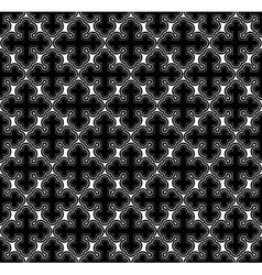 Cross geometric seamless pattern vector