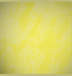 distressed yellow background vector image