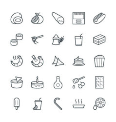 Food Cool Icons 11 vector