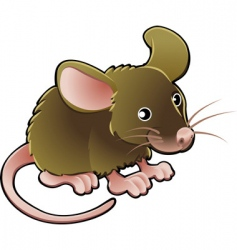 mouse illustration vector image