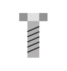 screw tool isolated icon vector image