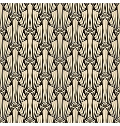 Seamless antique pattern ornament Geometric art vector image