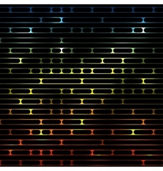 striped shiny glowing multicolored vector image