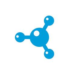 technology logo isolated on white background vector image