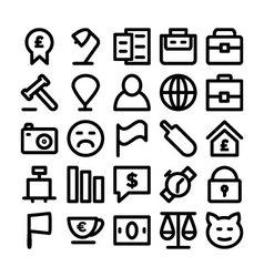 Trade Icons 3 vector