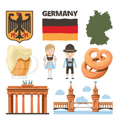 travel pictures set of traditional and cultural vector image