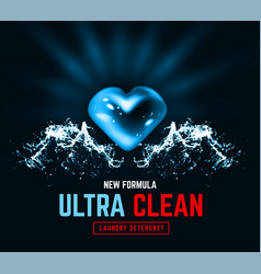 ultra clean design packaging design for liquid vector image