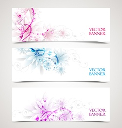 Floral backgrounds vector
