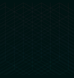 geometric thin line black background simple vector image vector image