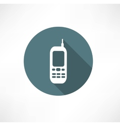 Mobile phones icons set vector image vector image