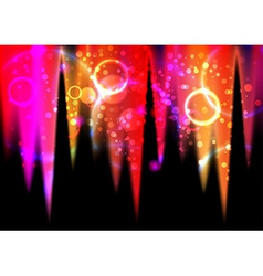 Abstract light flares vector image