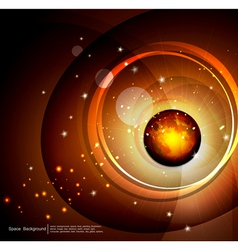 abstract space and future vector image