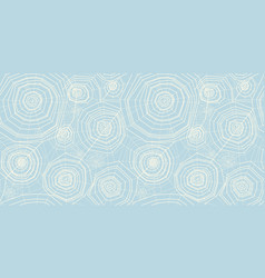 elegant pastel color spider web seamless pattern vector image