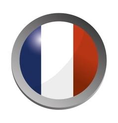 France flag emblem vector