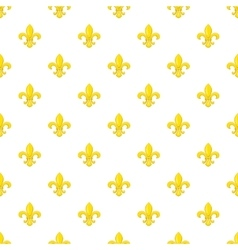 Knight ornament pattern cartoon style vector