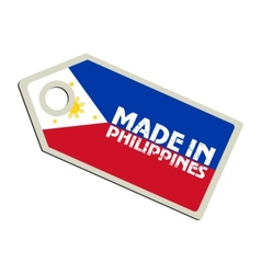 Made in philippines vector