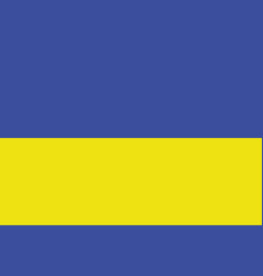 national flag ukraine vector image