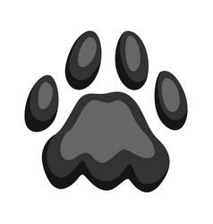 print cat paw vector image