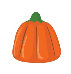 Pumpkin candy vector