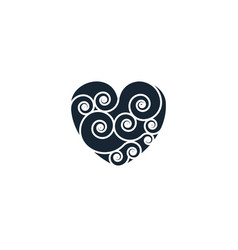 Quilling creative icon from handmade icons vector