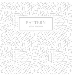 Seamless stripes sketch pattern hand drawn design vector