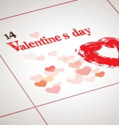 Valentine day today vector