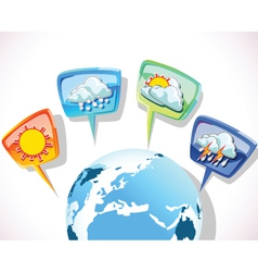 forecast vector image vector image