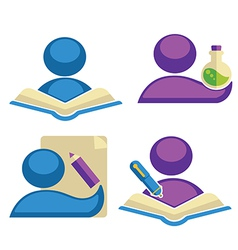 back to school collection vector image vector image