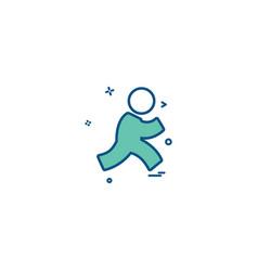 Aim aol icon design vector
