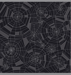 concept geometric spider web seamless pattern vector image