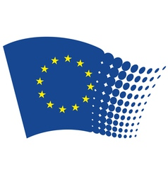 European union flag - EU vector image