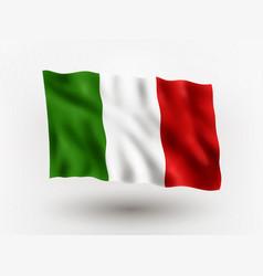 Flag italy vector