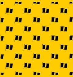 flag of ireland pattern vector image