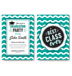 Party flyer layout vector