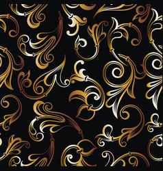 royal pattern vector image