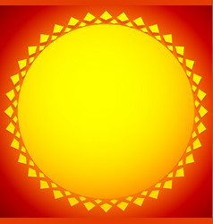 sun sun clip-art for nature sunlight summer vector image