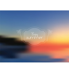 abstract summer background 1407 vector image vector image
