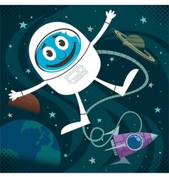 Space Fun vector image