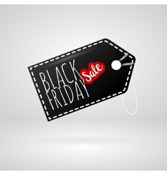 Black Friday sales label tag vector image