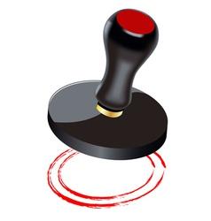 black seal vector image vector image