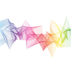 Abstract rainbow sharp wave vector