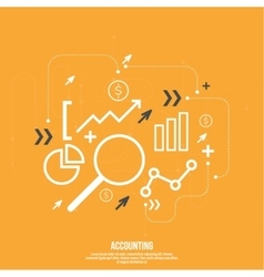 Analysis and Financial Management vector