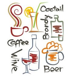 Beverages001 vector