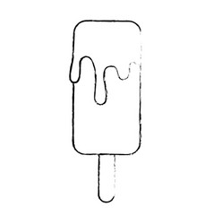 ice cream isolated icon vector image