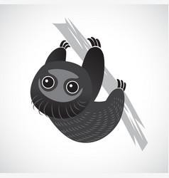sloth cute vector image