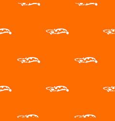 Anarhichas fish pattern seamless vector