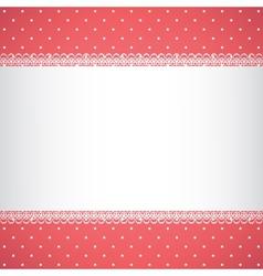 Polka dot pattern vector