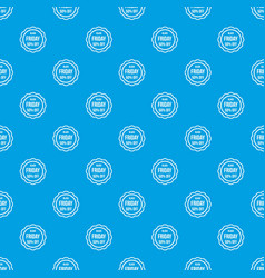 Sale sticker 50 percent off pattern seamless blue vector